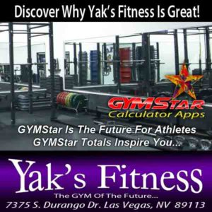 Athletic Gyms In Las Vegas